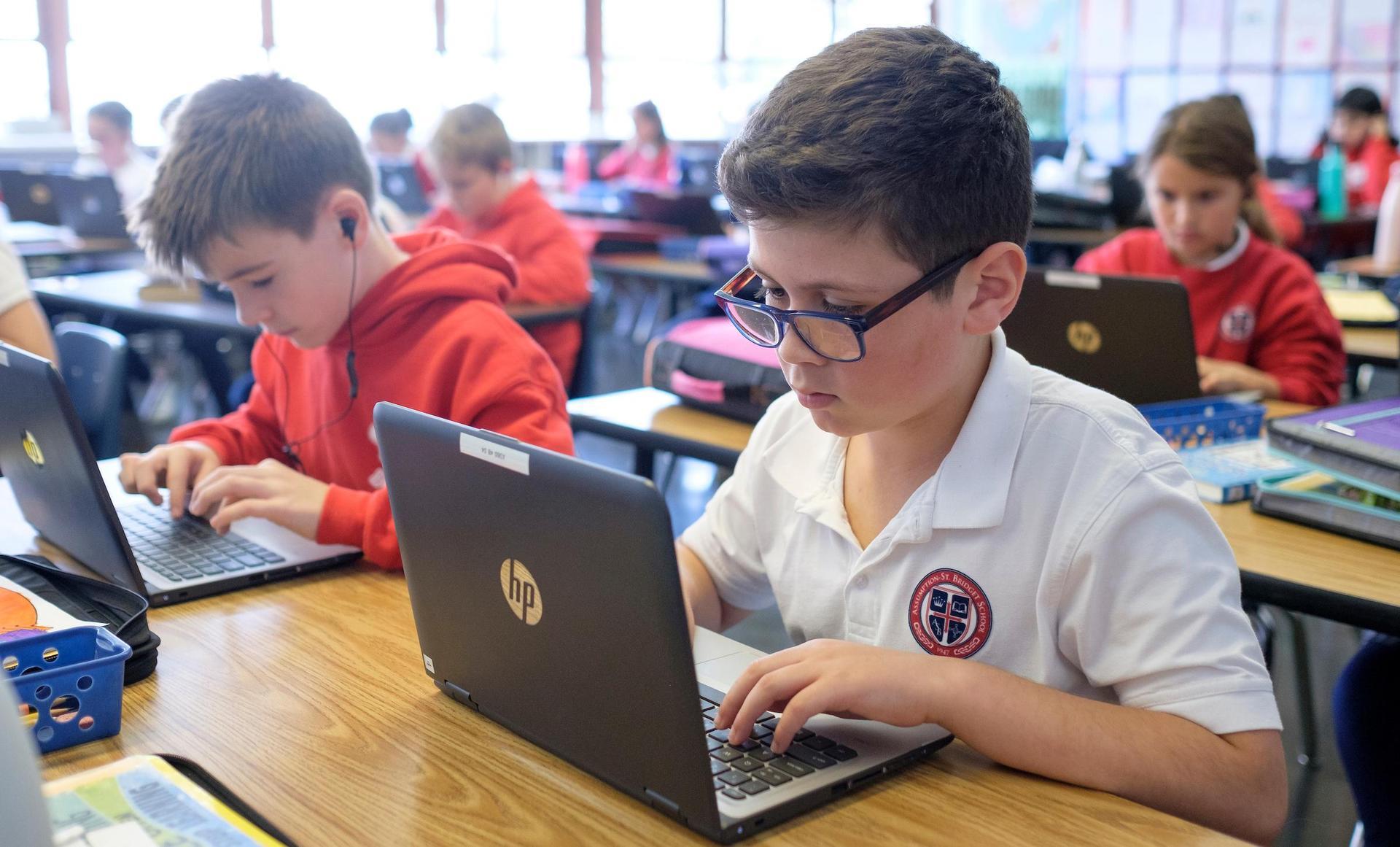 boys at laptop