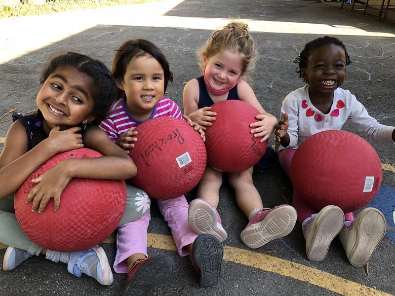 Girls with Balls Image