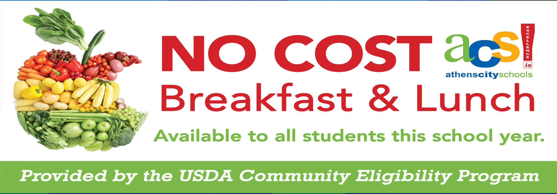 no cost breakfast and lunch