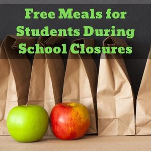 Free Meals for student during closure