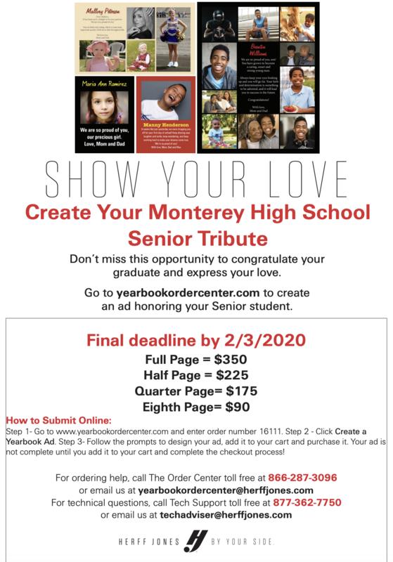 Senior Yearbook Ad
