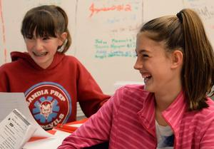 MS Girls in Class Laughing.jpg