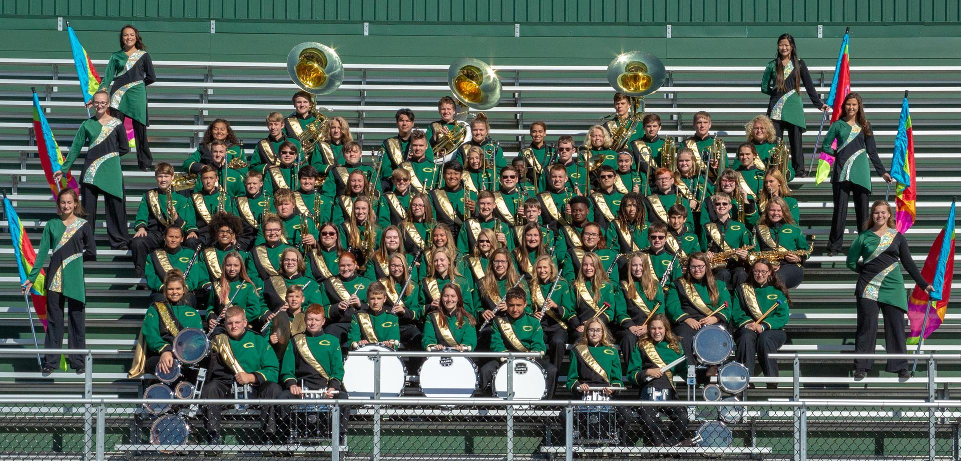 Coloma Marching Band 2018-19