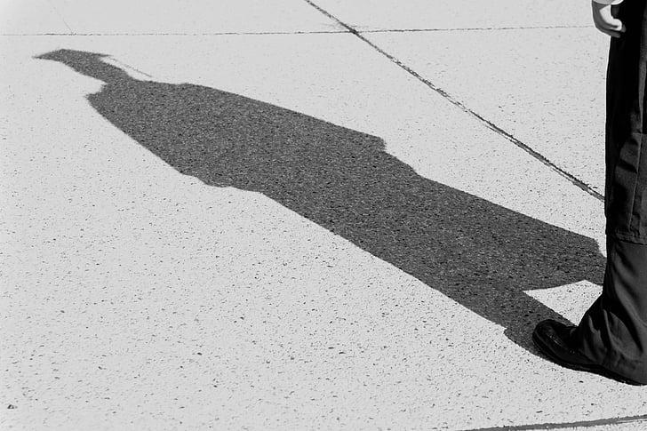 Shadow of a graduate