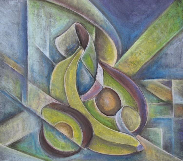 Benjamin Lojacono '16: Cubist Avacado