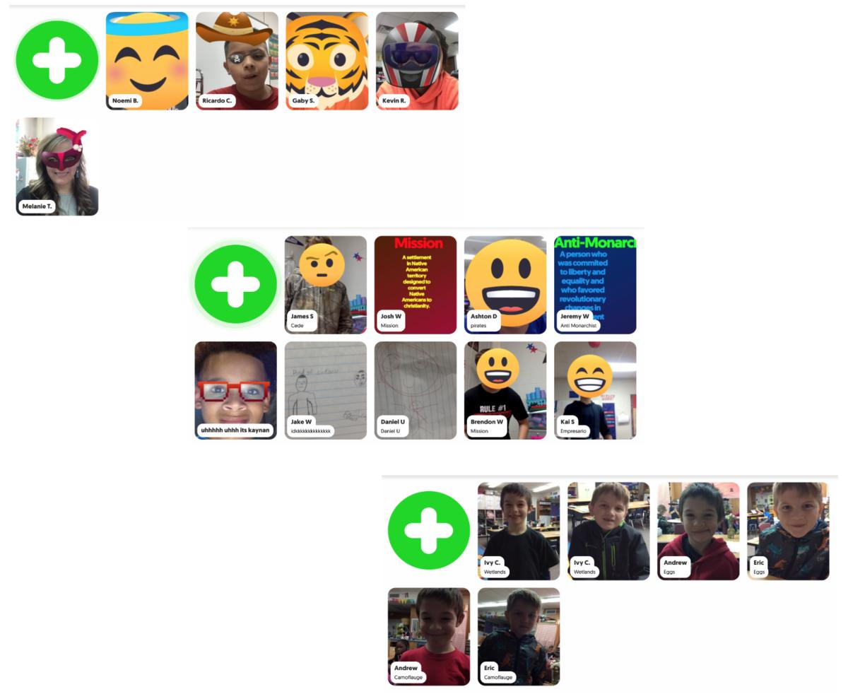 flipgrid screen shots