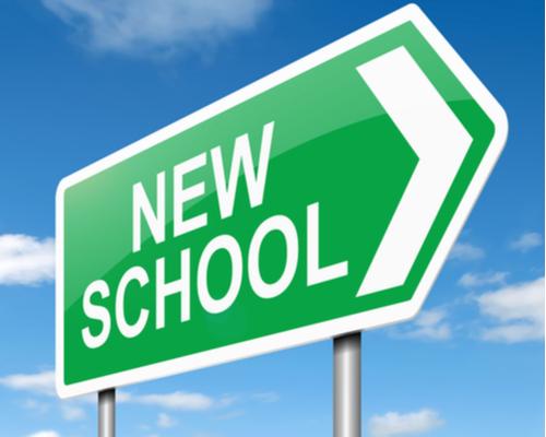 Arrow to new school