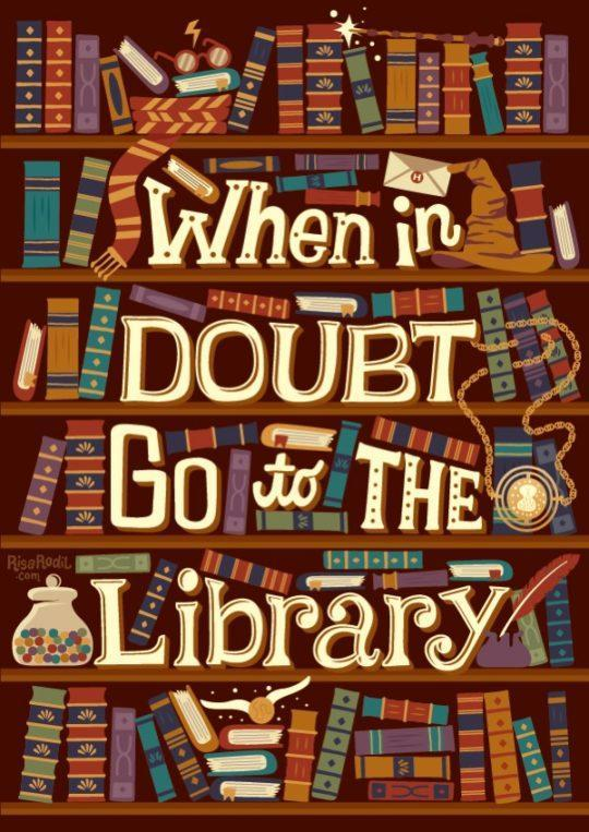 Go to the library!