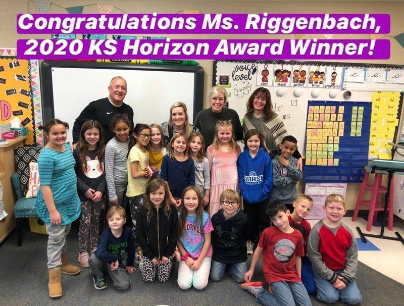 Riggenbach receives Kansas Horizon Award Thumbnail Image