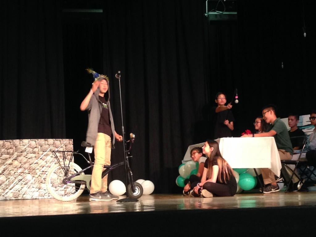 CCA students act out Shakespeare.