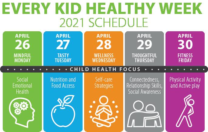 Healthy Week Schedule