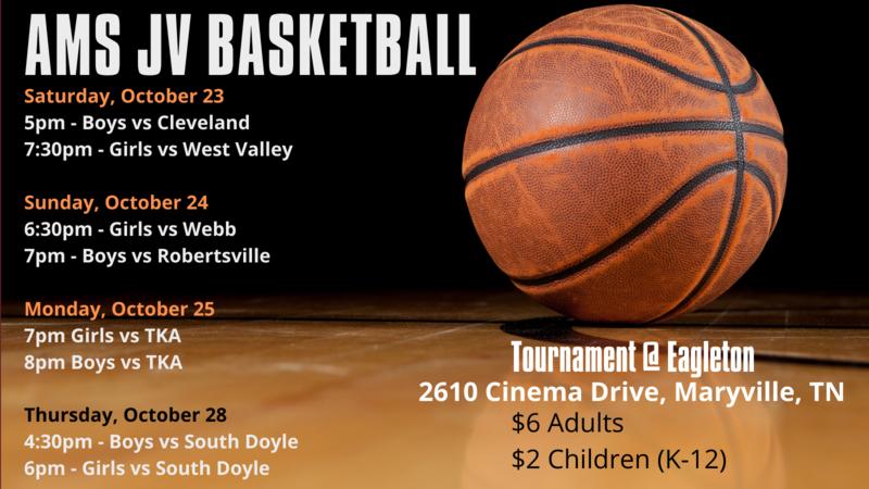 JV Basketball Tournament