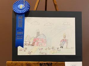 Cataleya Costello Houston Livestock Show Art