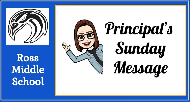 Principal's Sunday Message