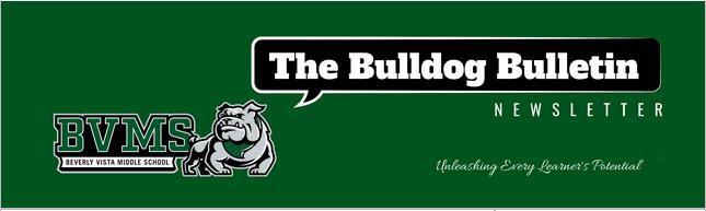 BVMS Newsletter - The Bulldog Bulletin - April 21, 2021 Featured Photo