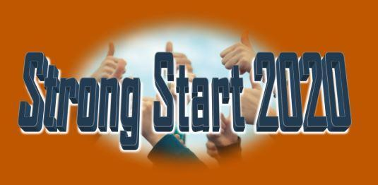 strong start 2020