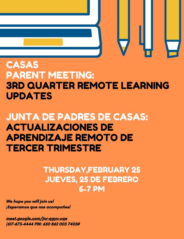 Casas Q3 Parent Meeting Featured Photo