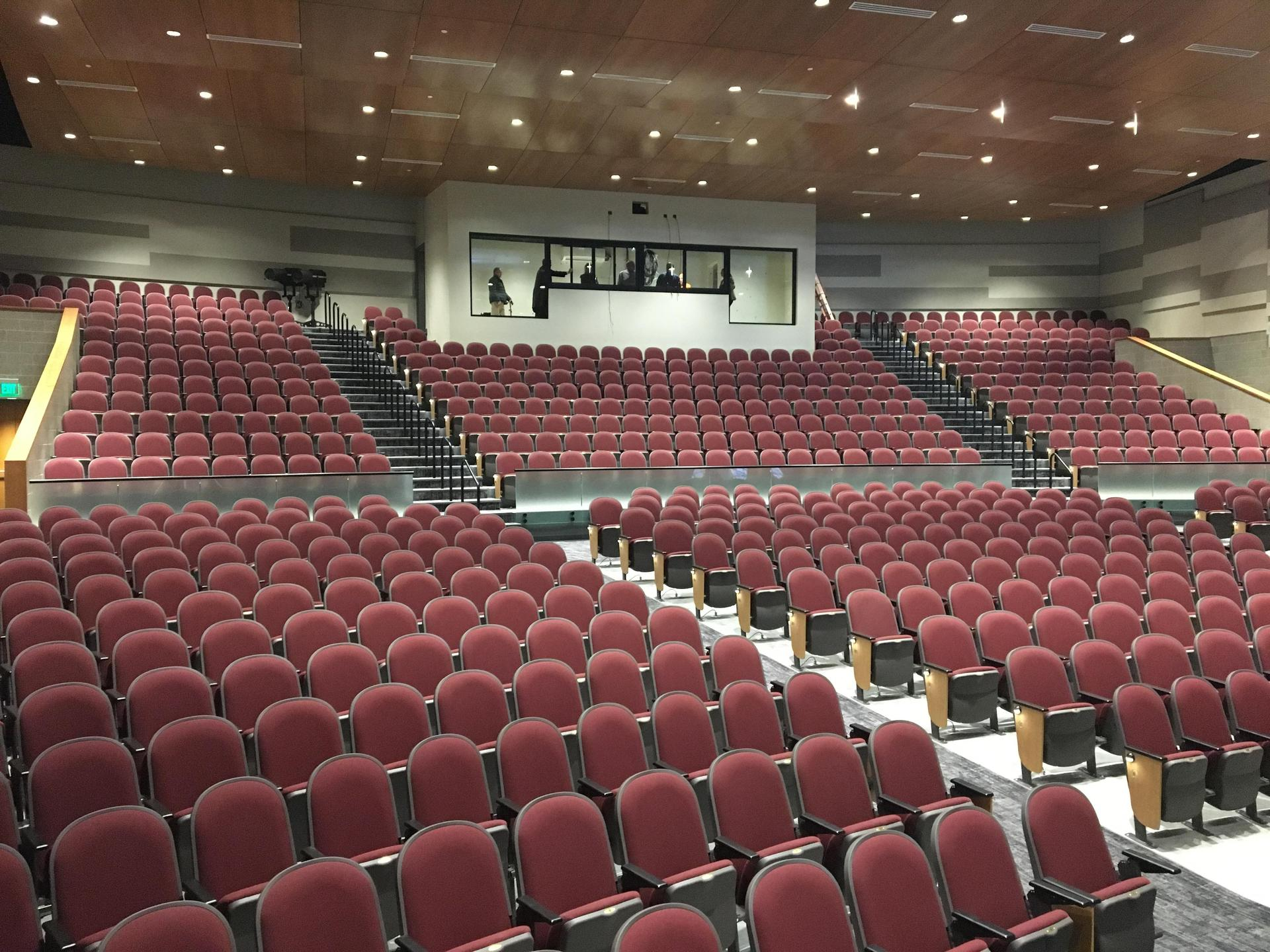 The new auditorium