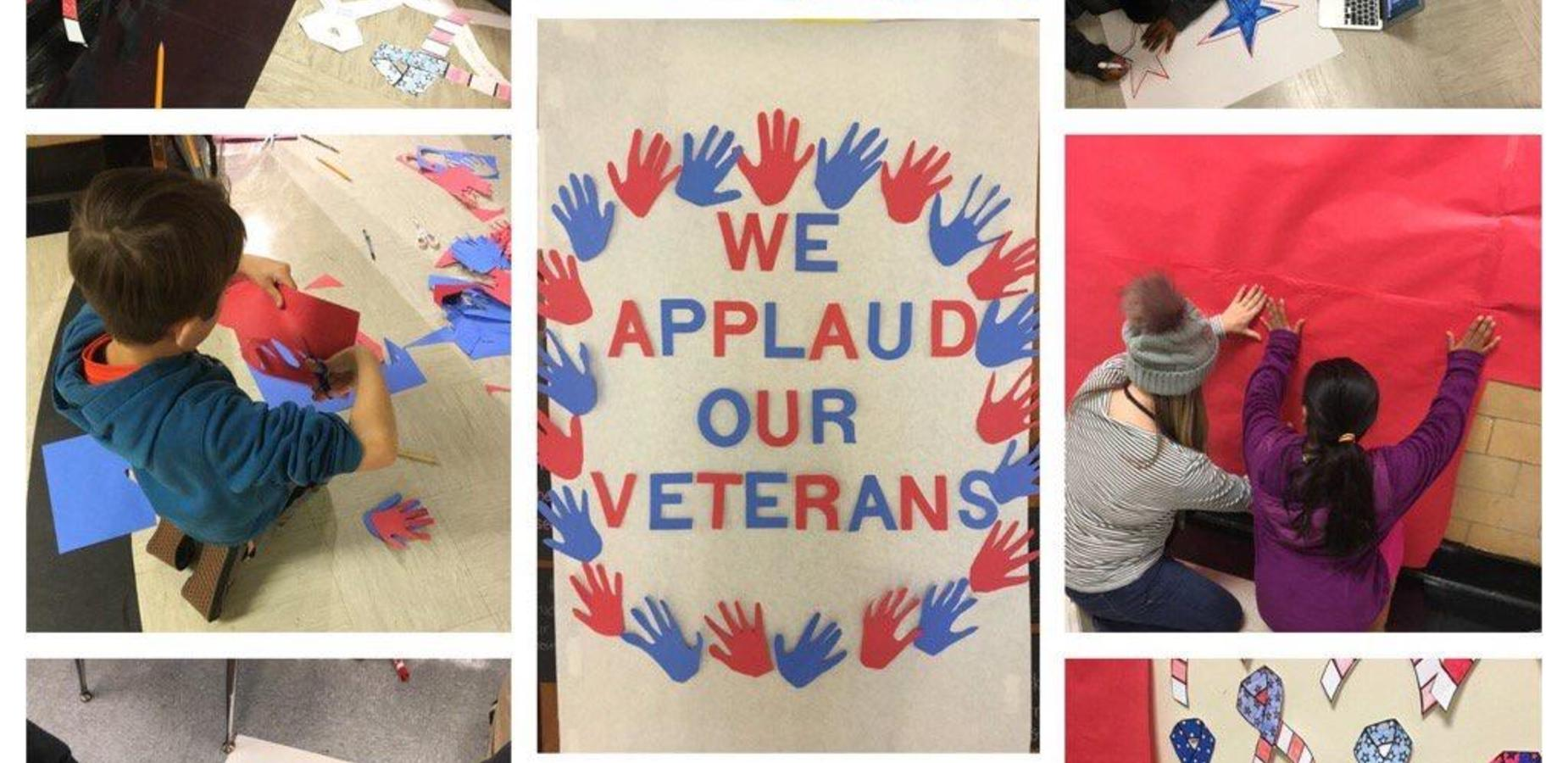 Applaud our Veterans