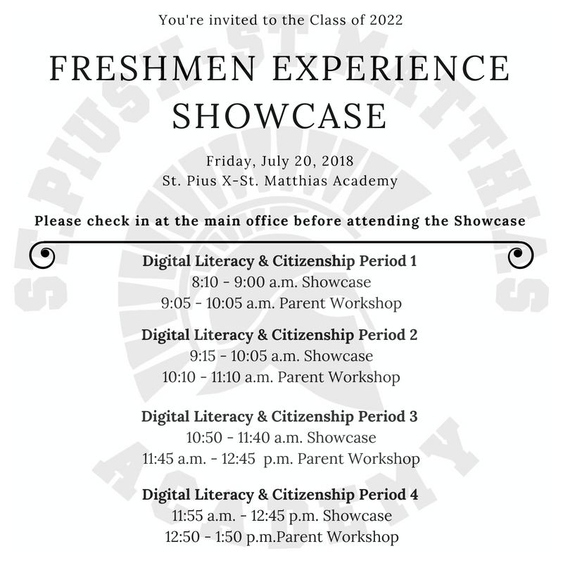 Freshmen Showcase Thumbnail Image