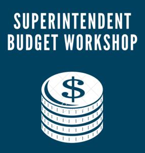 Superintendent Budget Workshop Image
