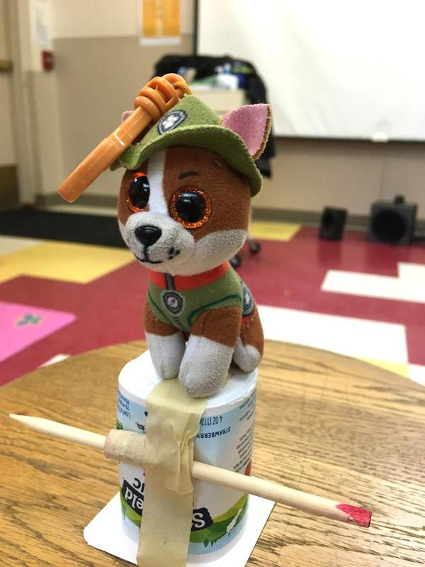 PK STEM Challenge - Build a Chair for Baby Bear Featured Photo