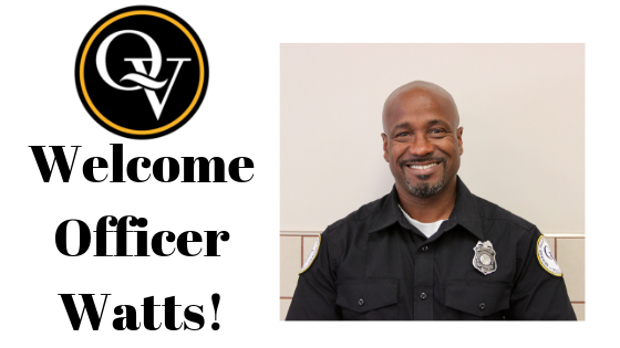 Welcome Officer Watts
