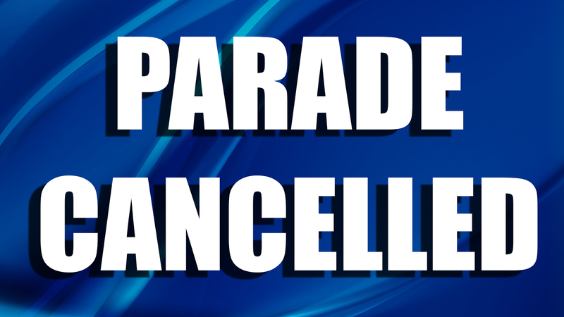 parade cancelled