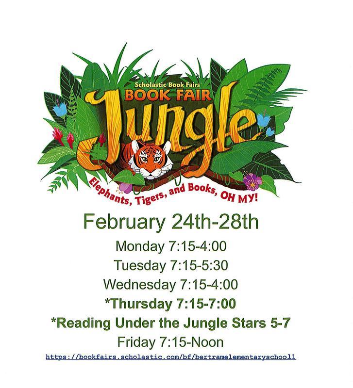 Scholastic Book Fair - February 24th - 28th Thumbnail Image