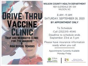 Vaccine Clinic Flyer!