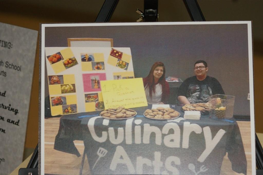 Culinary Arts booth