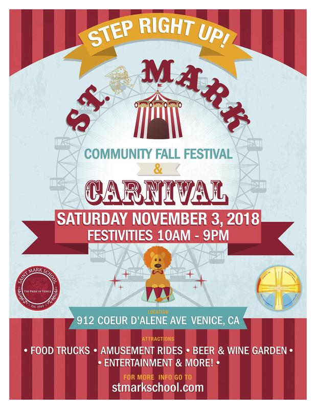 St. Mark Community Fall Festival & Carnival Featured Photo
