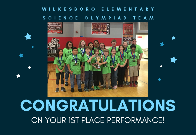 WES Science Olympiad Awarded 1st Place Thumbnail Image