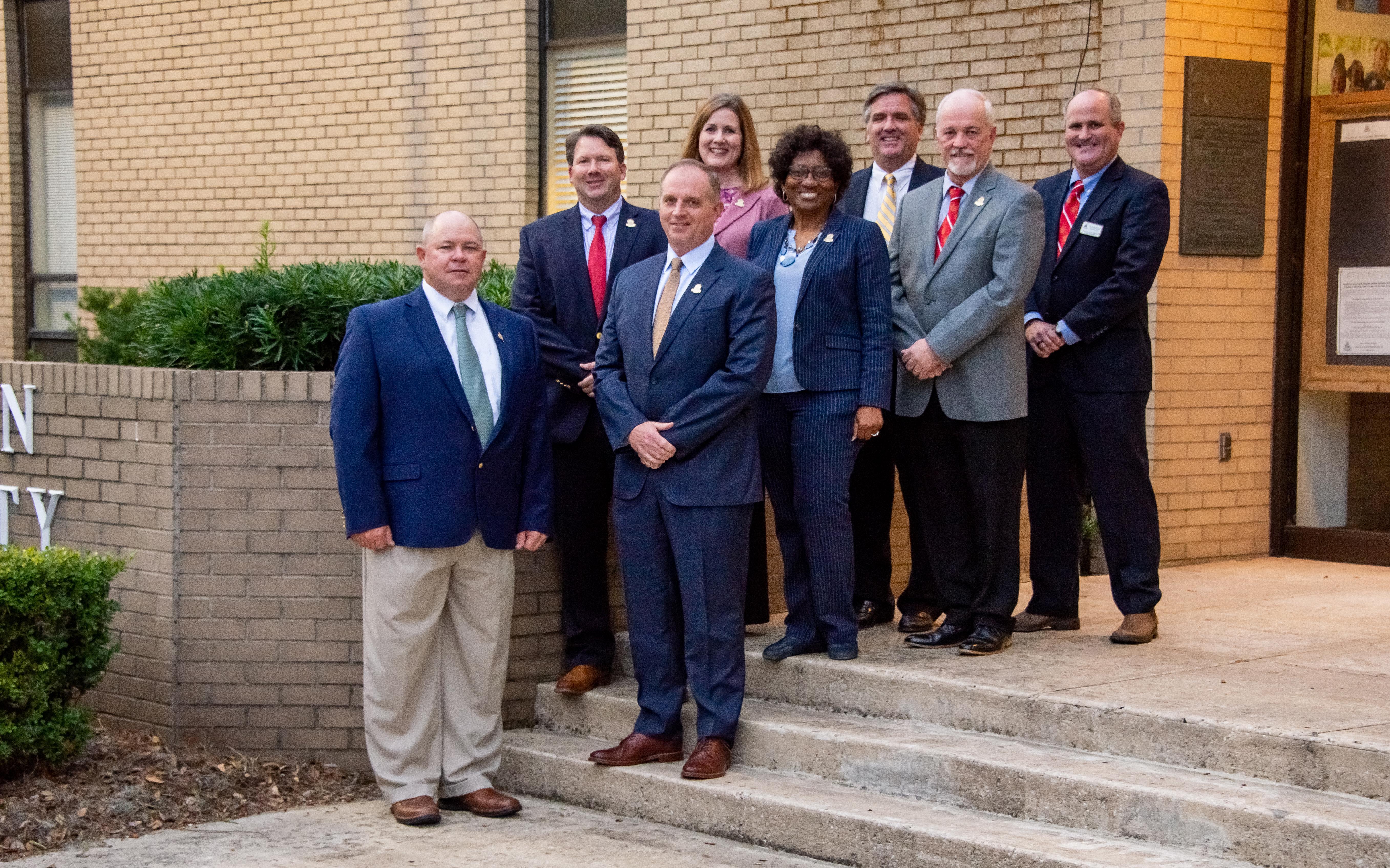 Glynn County Board of Education Members.