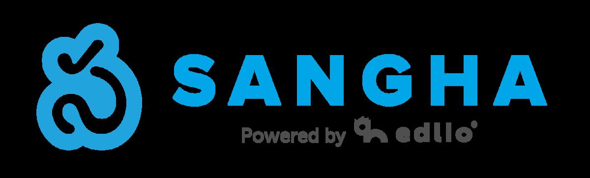 Sangha Logo (Powered by Edlio)