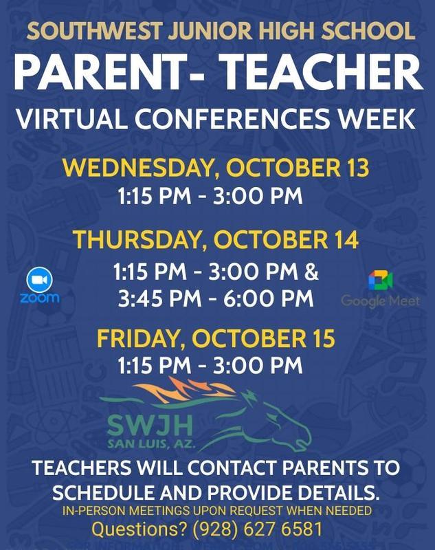 Parent - Teacher conferences Oct 13- Oct 15 2021 Featured Photo