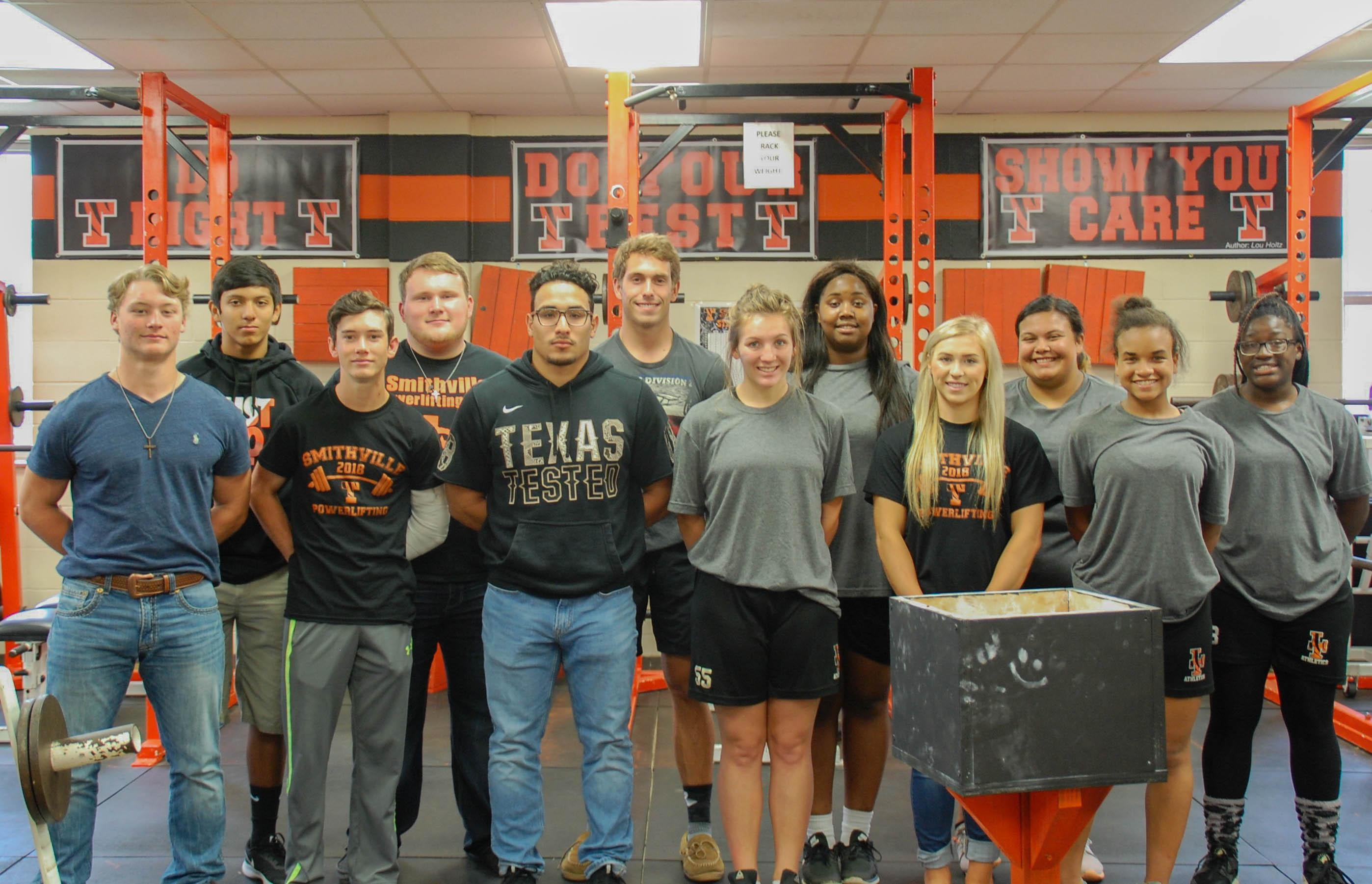 SHS Powerlifters