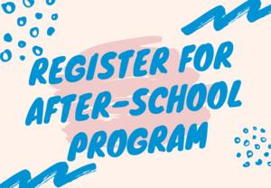 Register for After-School