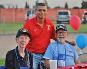 Salute to Service Game at Centennial High School