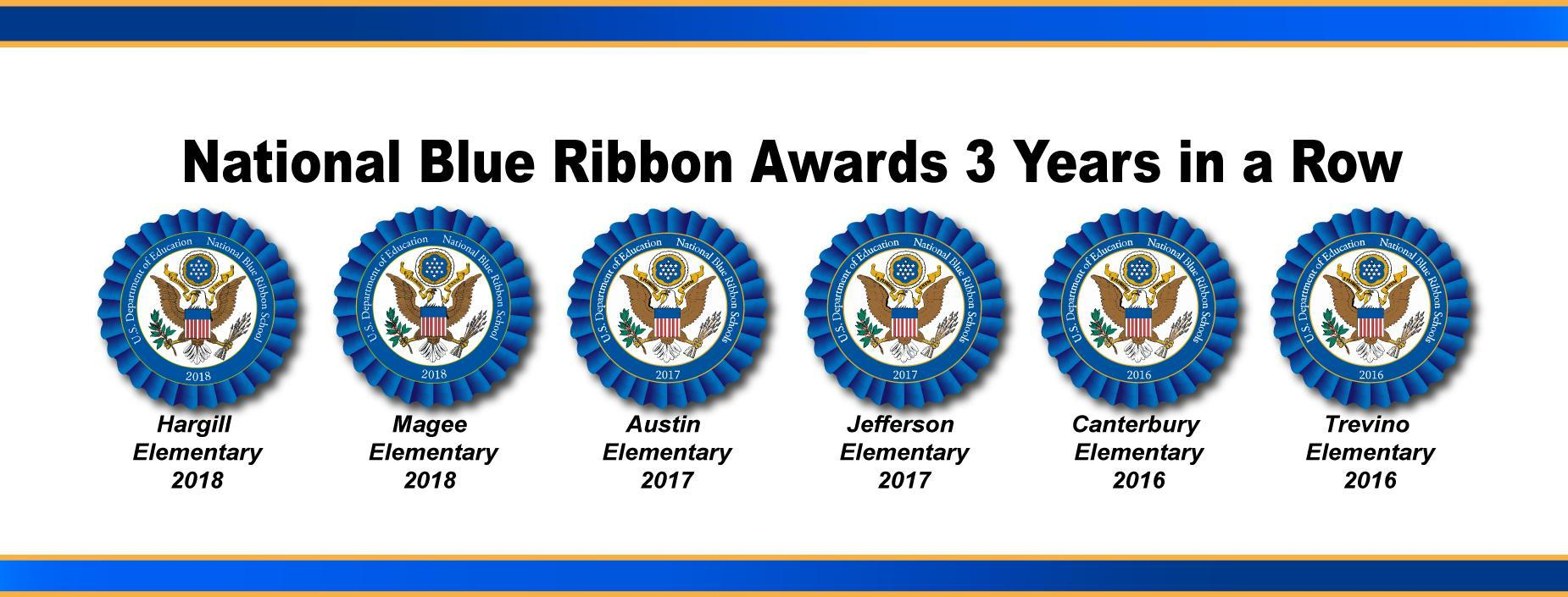 ECISD 6 National Blue Ribbon Schools