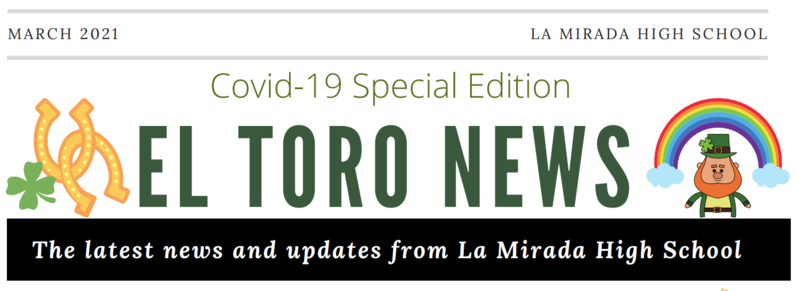 El Torro Newsletter #4 Featured Photo