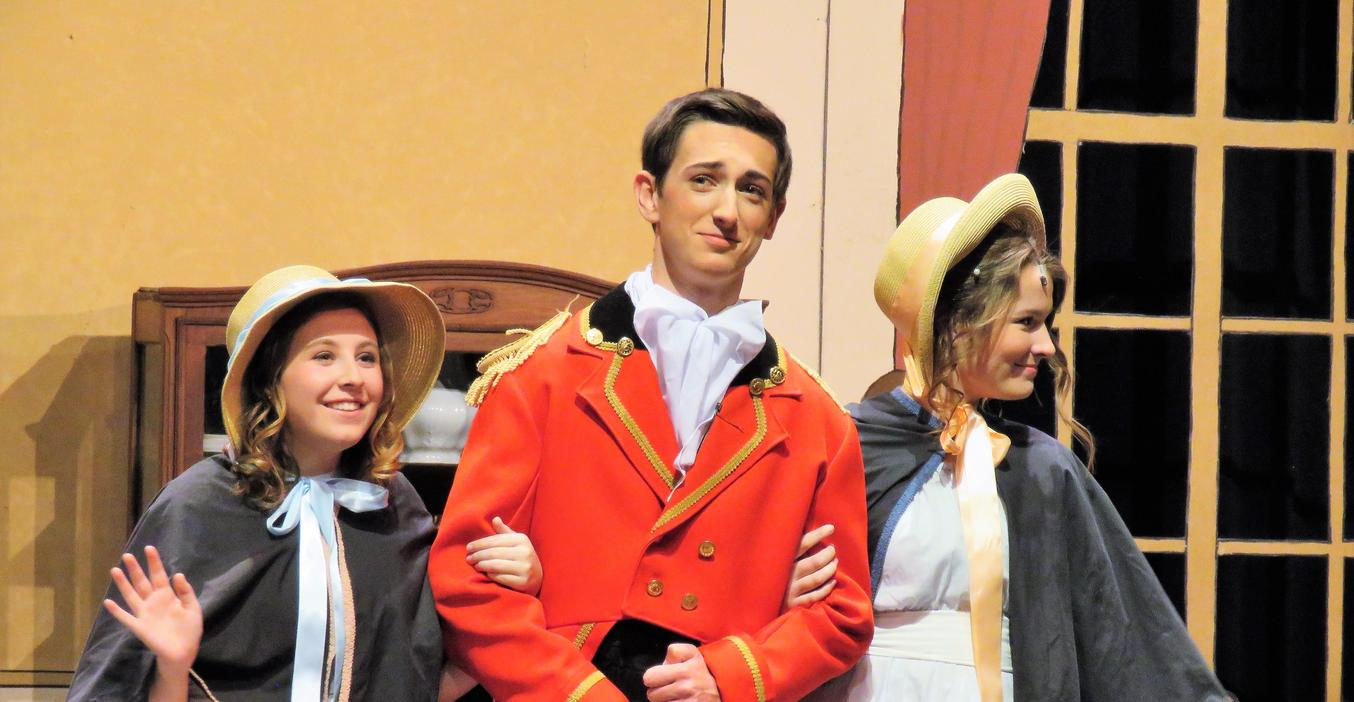 TKHS students perform their fall play.