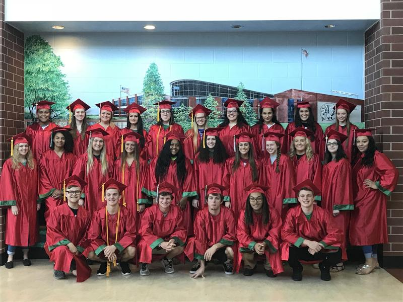 Class of 2018 Top Students! Thumbnail Image