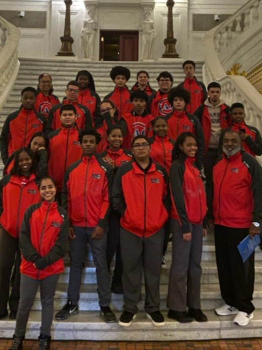 State Representative Jason Dawkins invited the OCHS JAG-PA program to visit the PA State House of Representatives Featured Photo