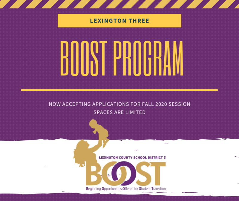 Lexington Three's BOOST Program Offers Learning Opportunities for Young Children