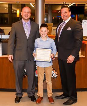 Willow Grove School Student of the Month - December 2019 - Joseph Pangello