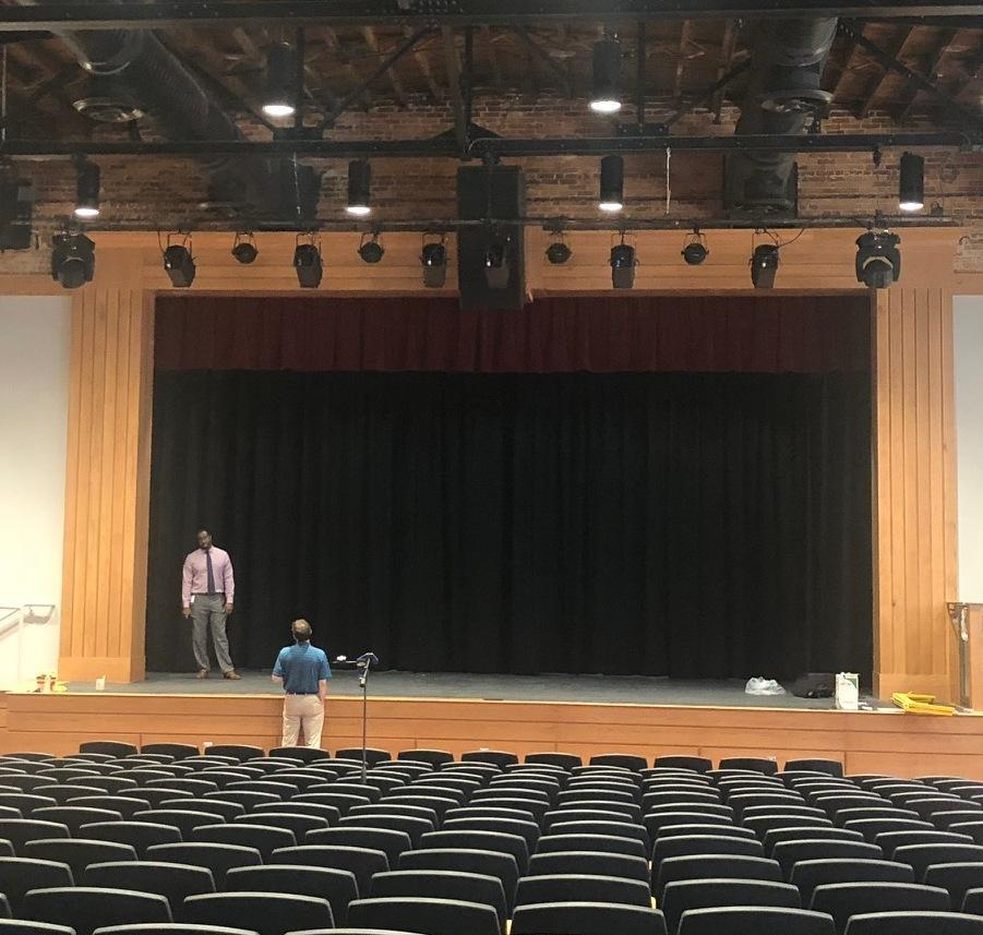 Brookland-Cayce High School Renovated Auditorium Stage