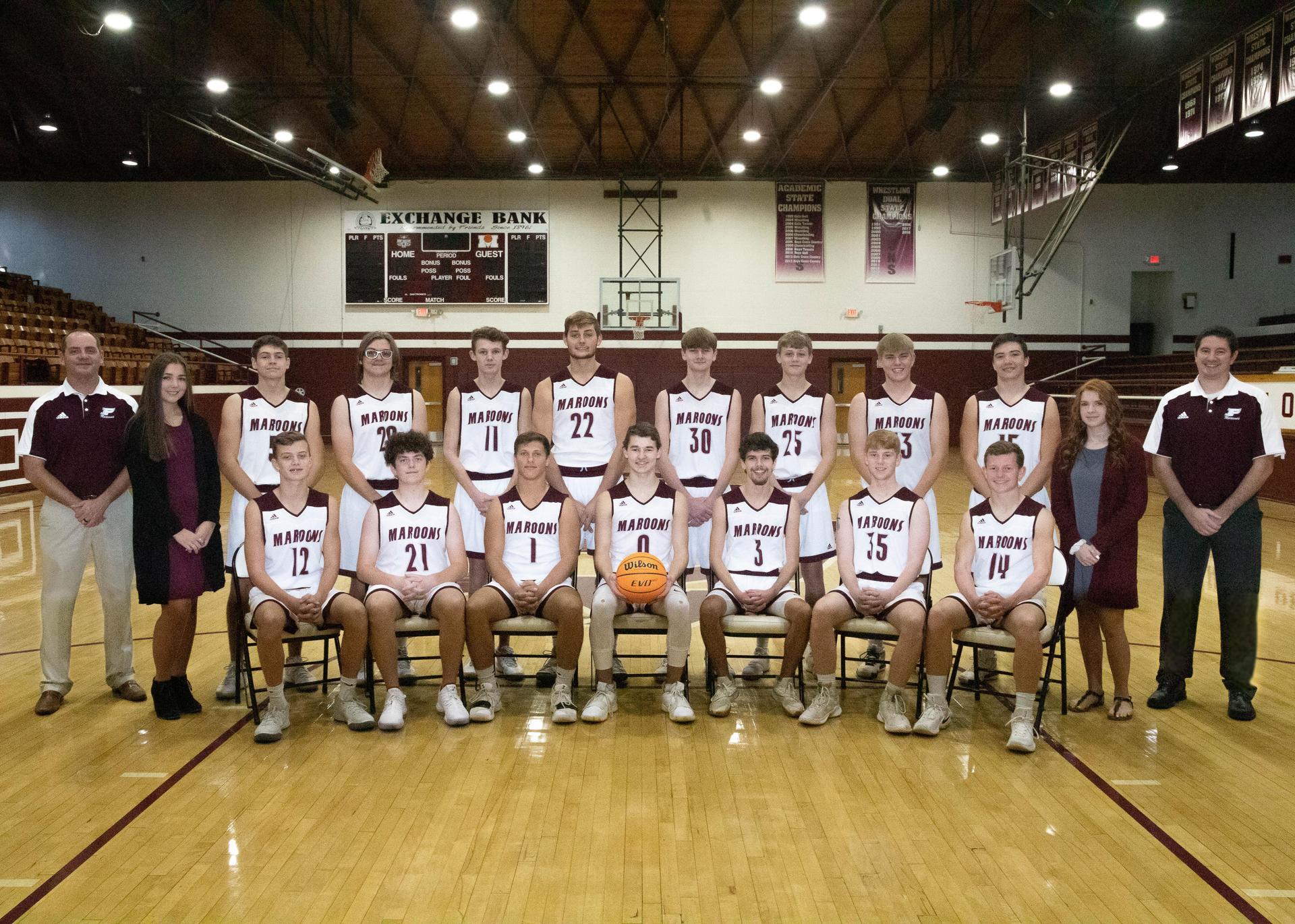 HS Boys Basketball Team