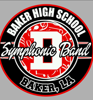 a photo of the Baker High School Symphonic Band Emblem