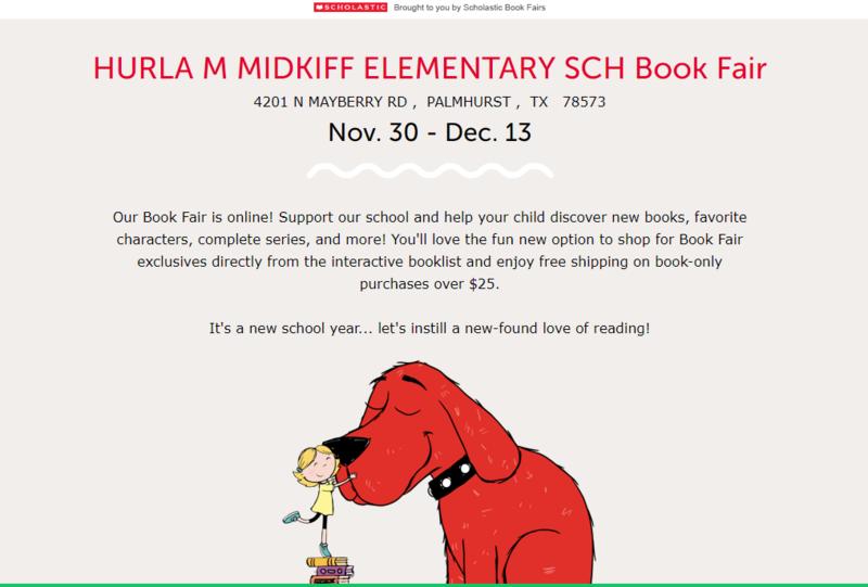 Virtual Scholastic Book Fair! Featured Photo